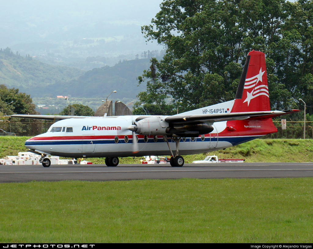 HP-1541PST - Fokker F27-100 Friendship - Air Panamá
