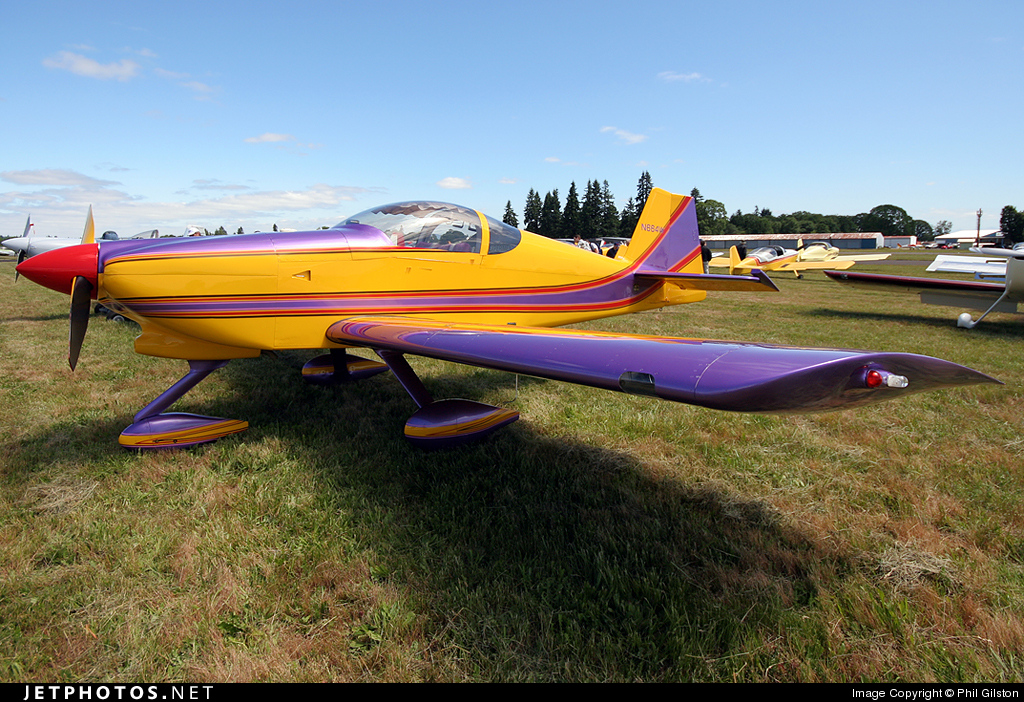 N664W - Vans RV-6A - Private