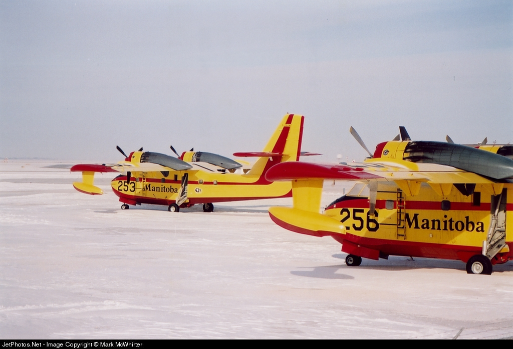 - Canadair CL-215T-6B11 - Canada - Manitoba Government Air Services
