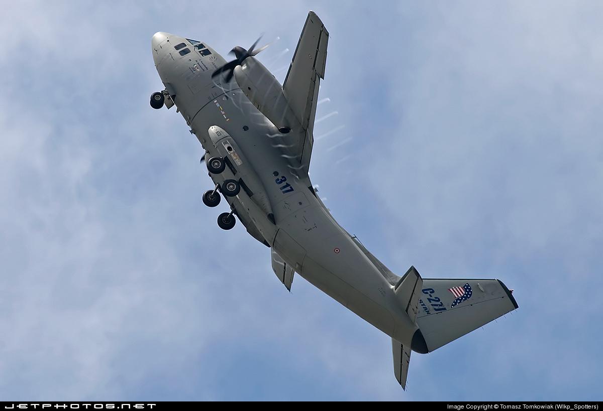 MMCSX62127 - Alenia C-27J Spartan - Italy - Air Force