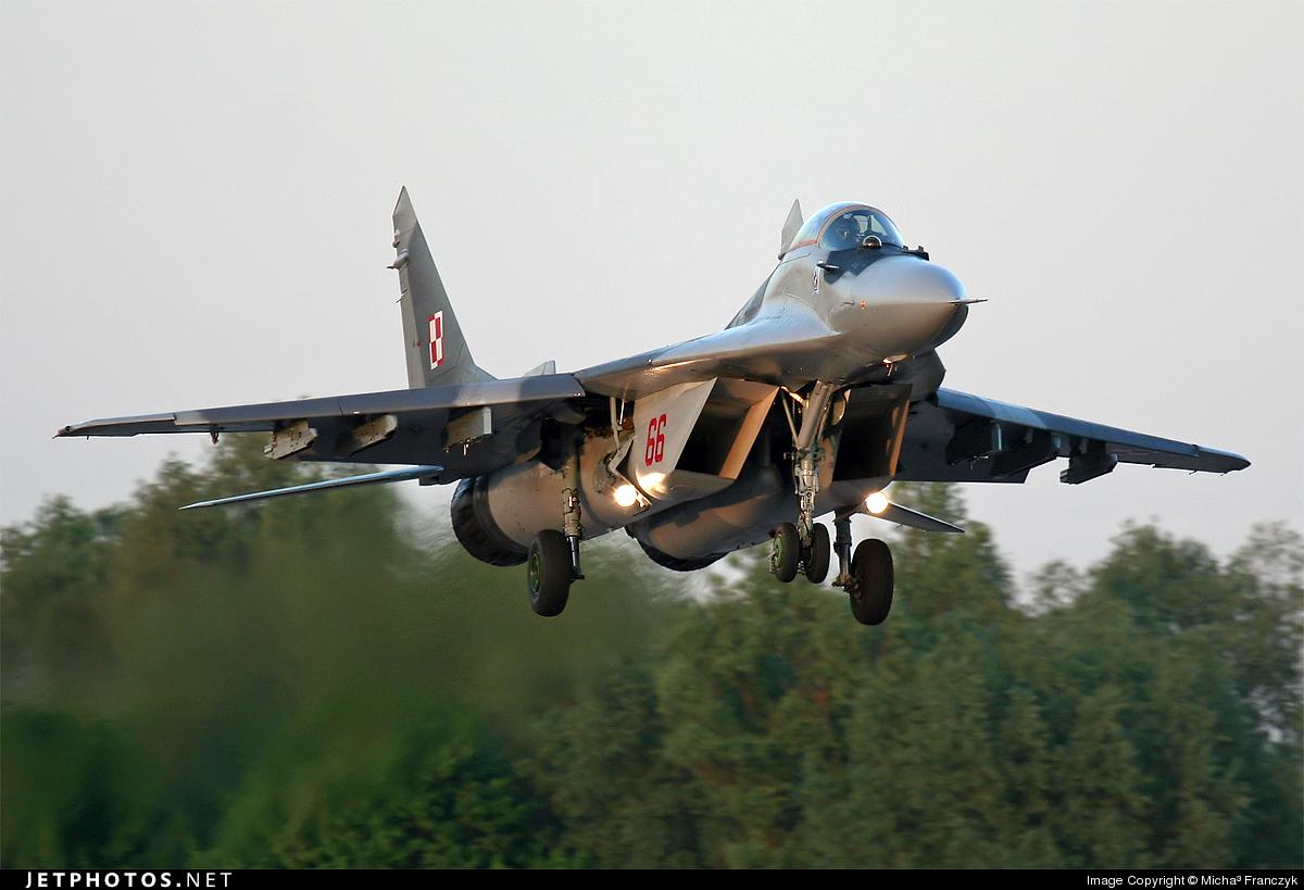 66 - Mikoyan-Gurevich MiG-29A Fulcrum - Poland - Air Force