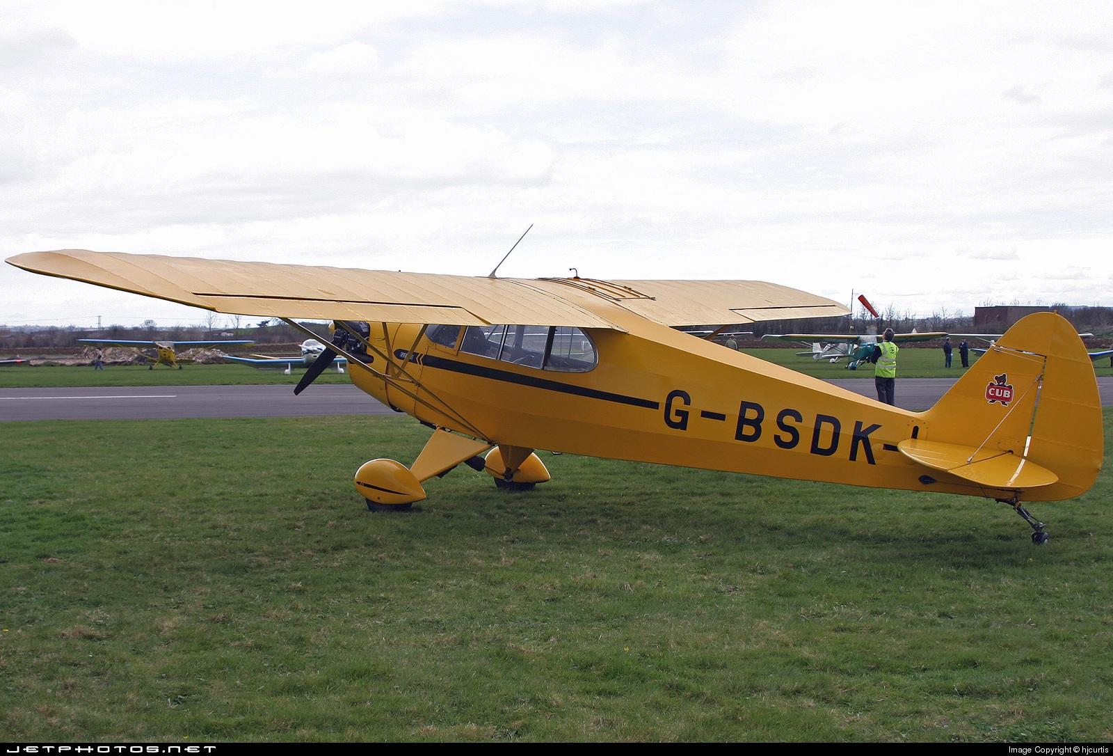 G-BSDK - Piper J-5A Cub Cruiser - Private