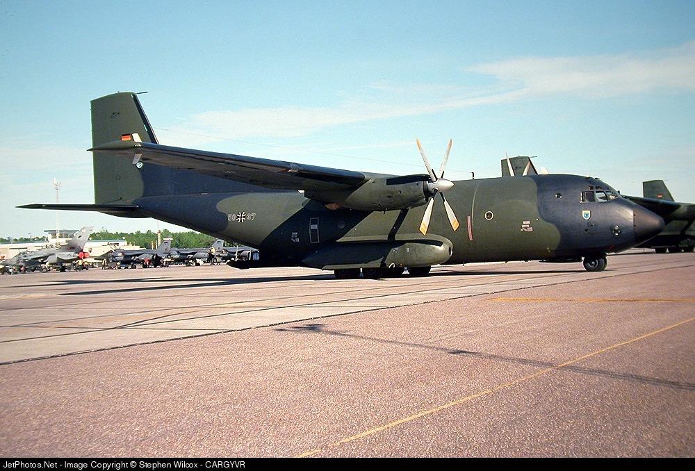 50-37 - Transall C-160D - Germany - Air Force