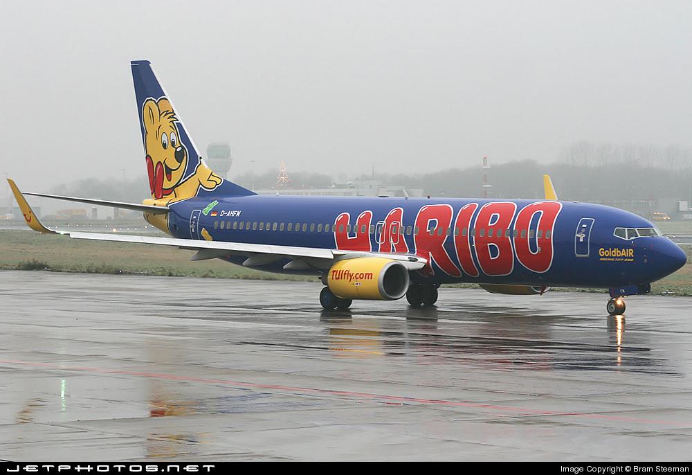 D-AHFM - Boeing 737-8K5 - TUIfly