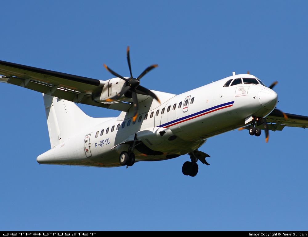 F-GPYC - ATR 42-500 - Airlinair