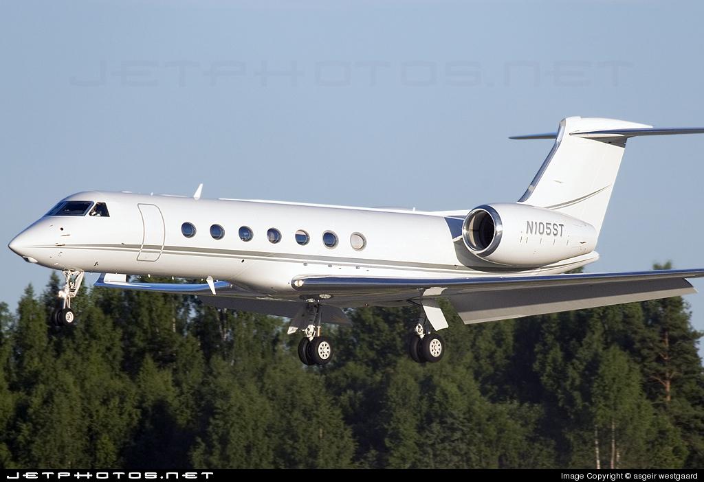 N105ST - Gulfstream G550 - Private