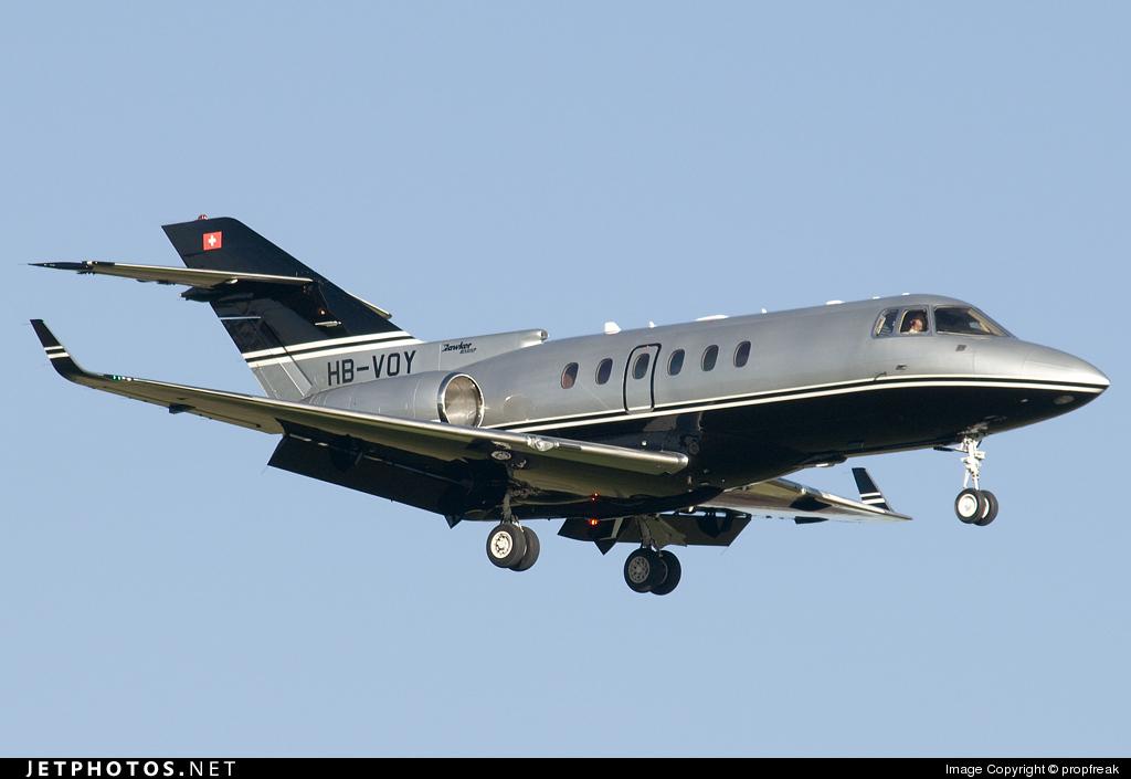 HB-VOY - Raytheon Hawker 850XP - Comlux Aviation