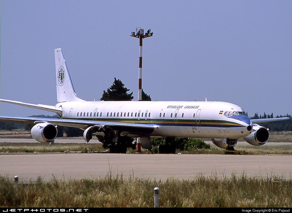 TR-LTZ - Douglas DC-8-73(CF) - Gabon - Air Force