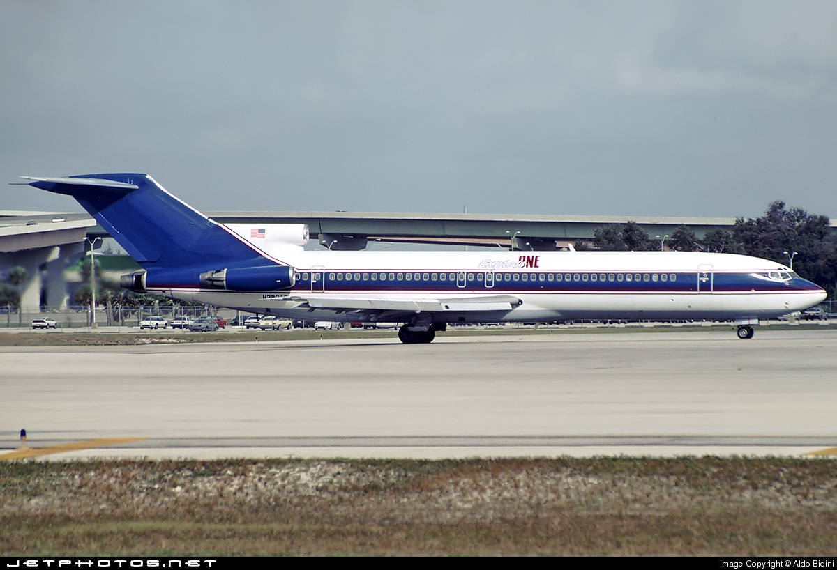 N293AS - Boeing 727-212(Adv) - Express One International