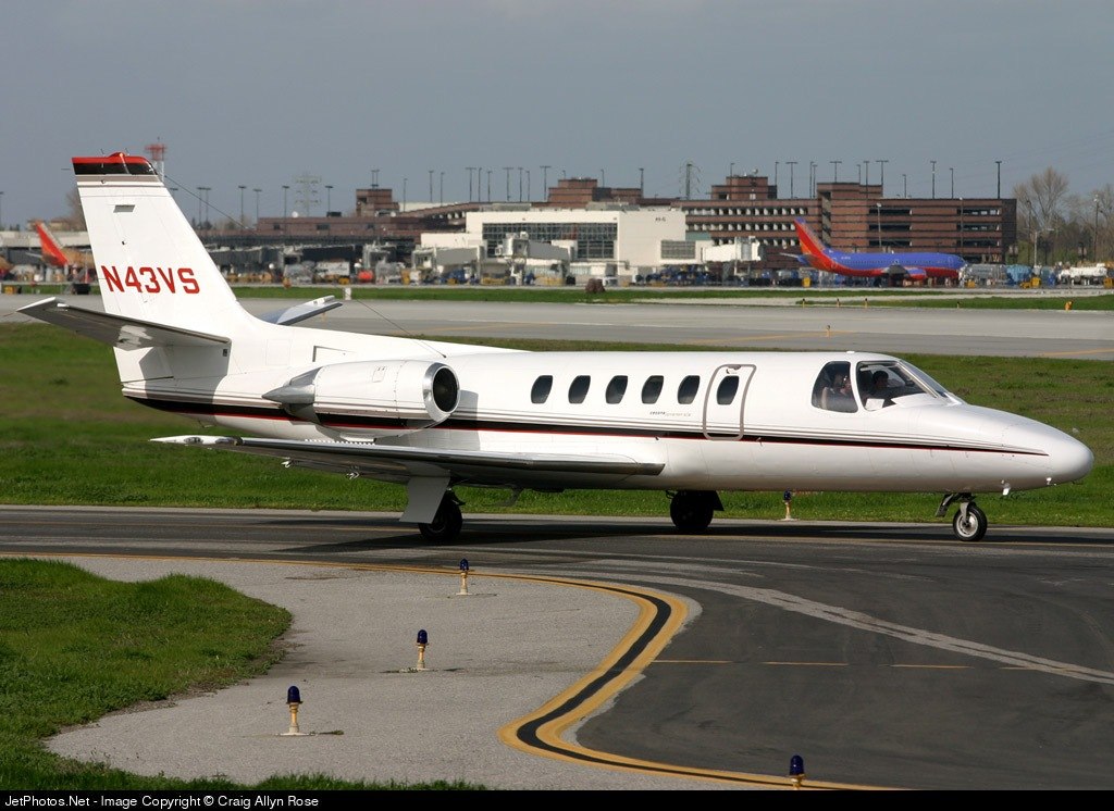 N43VS - Cessna 550 Citation II - Private
