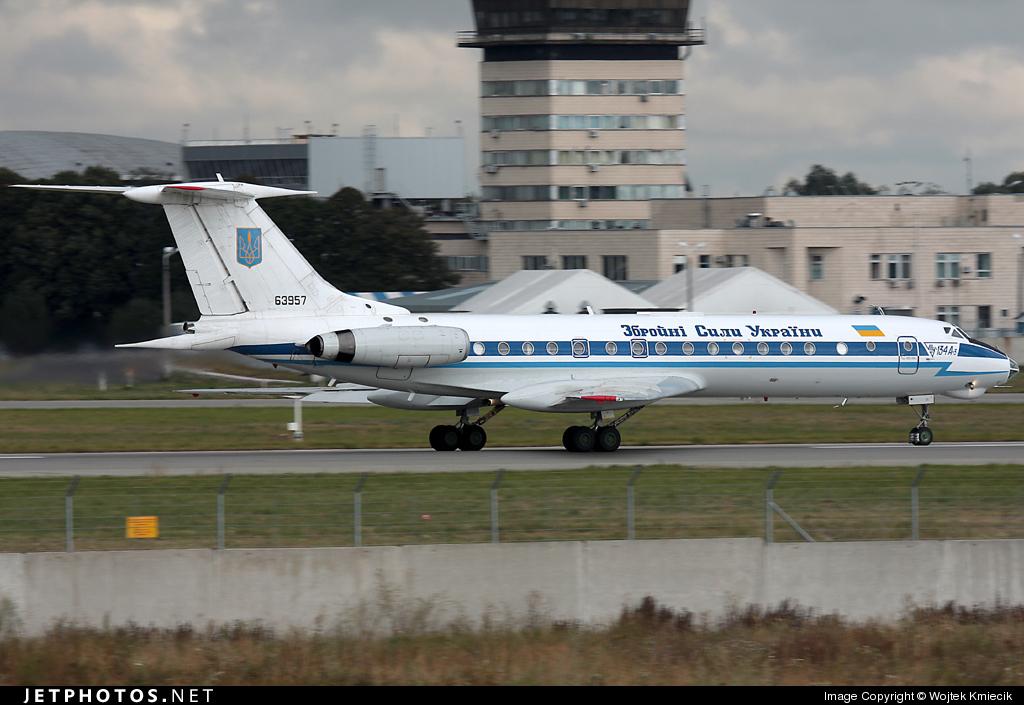 UR-63957 - Tupolev Tu-134A-3 - Ukraine - Government