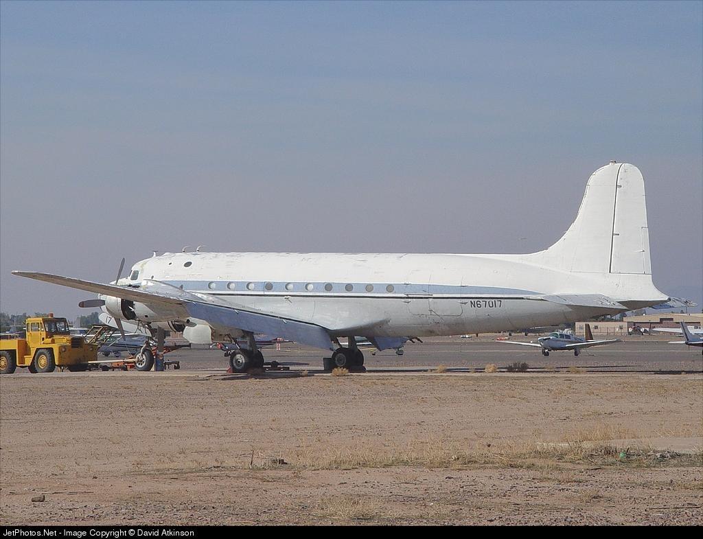 N67017 - Douglas DC-4 - Marsh Aviation