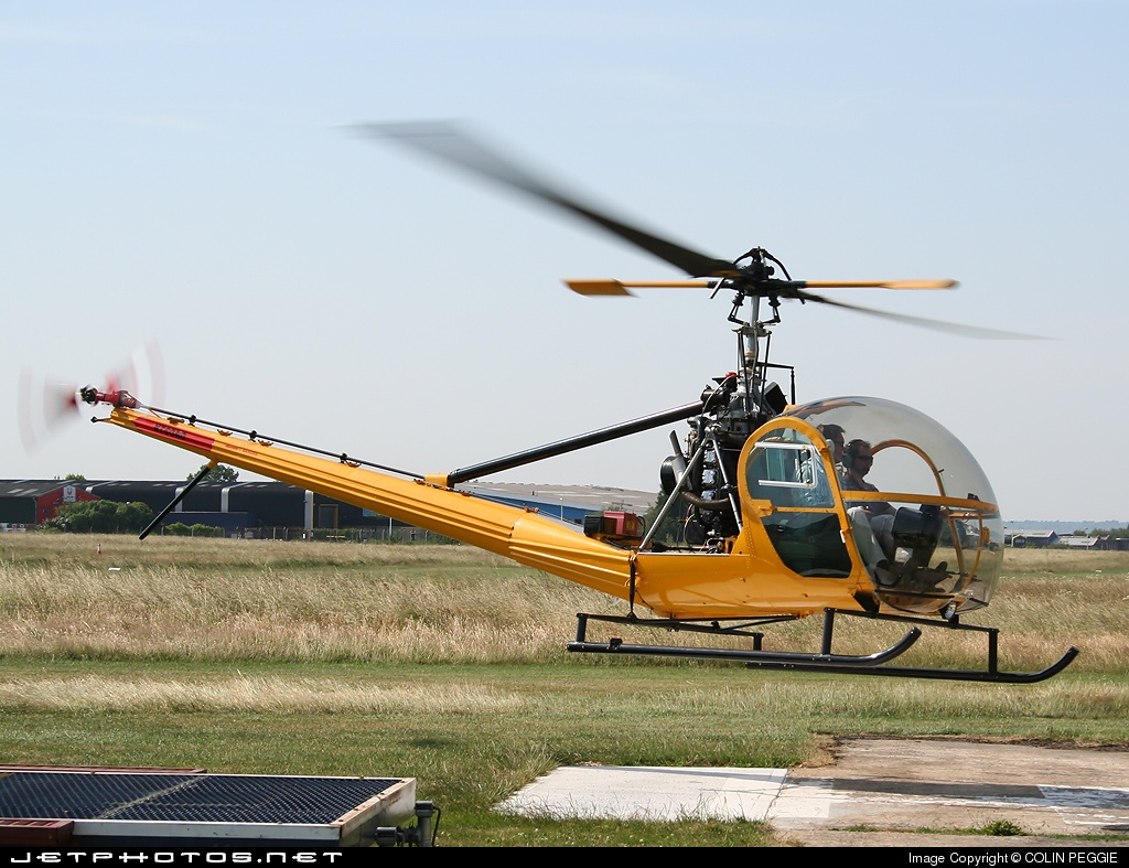 N780ND - Hiller UH-12B - Private