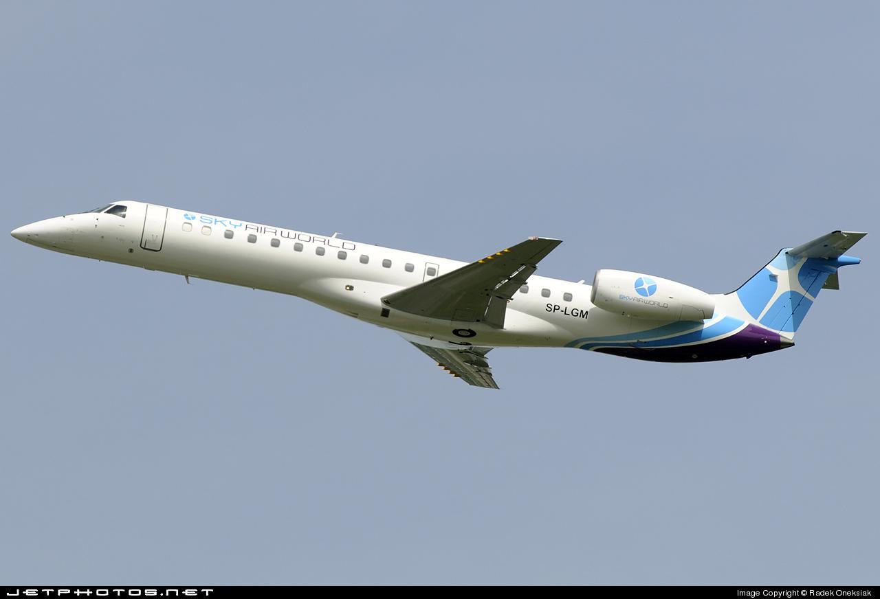 SP-LGM - Embraer ERJ-145MP - SkyAirWorld