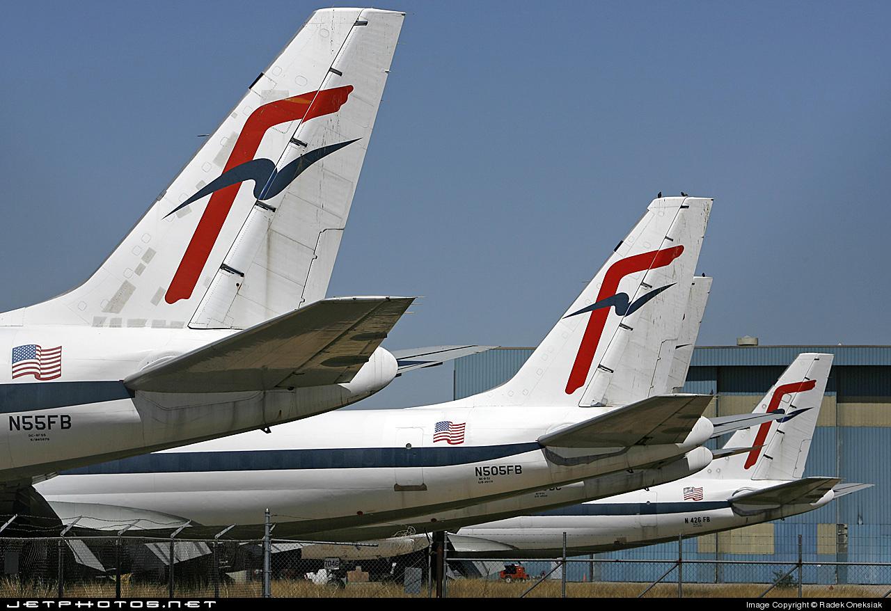N505FB - Douglas DC-8-51(F) - Fine Air