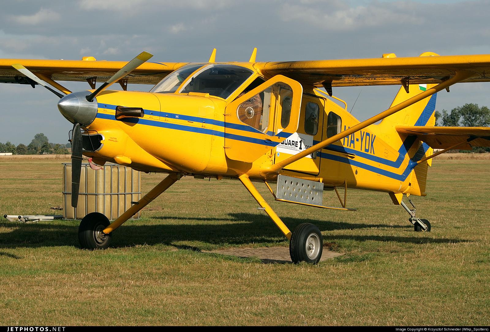 HA-YDK - Technoavia SMG-92 Turbo-Finist - Private