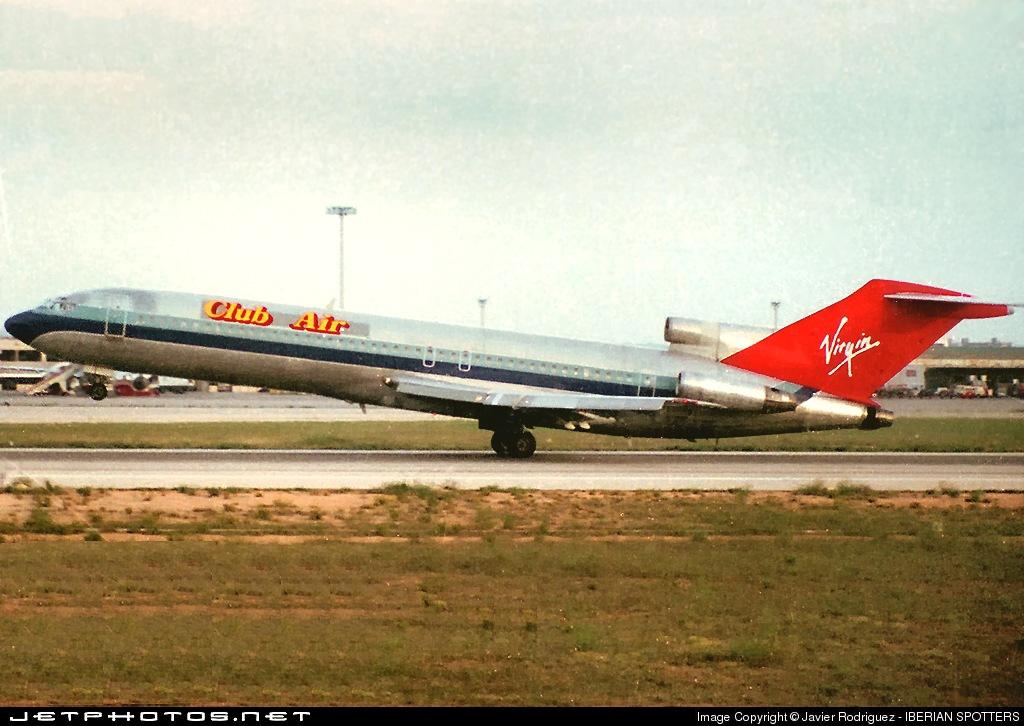 EI-BVO - Boeing 727-225 - Club Air