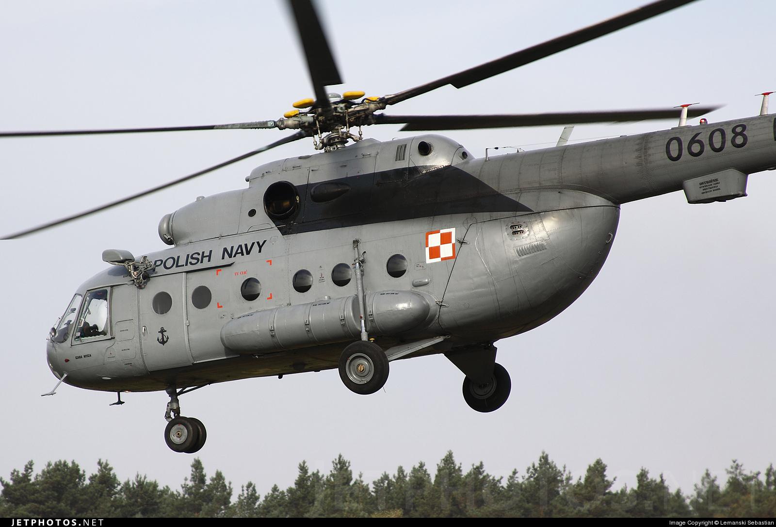0608 - Mil Mi-17 Hip - Poland - Navy