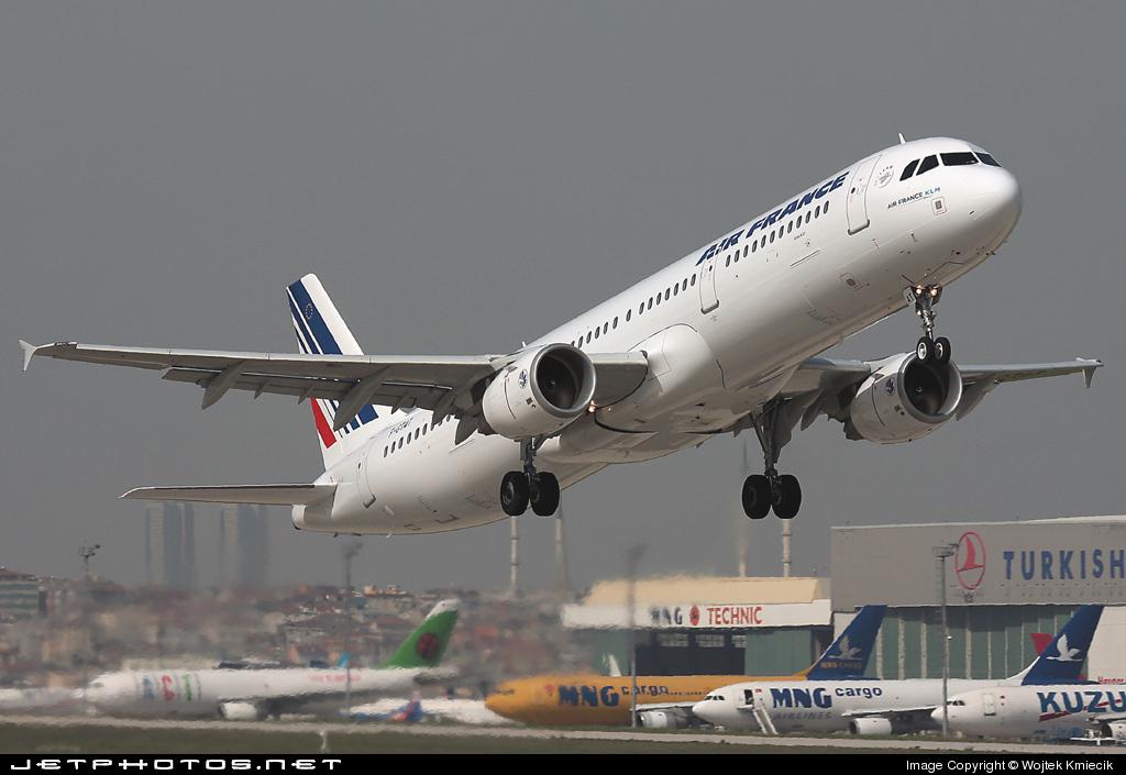 F-GTAT - Airbus A321-211 - Air France