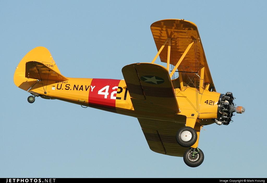 N57947 - Boeing A75N1 Stearman - Private