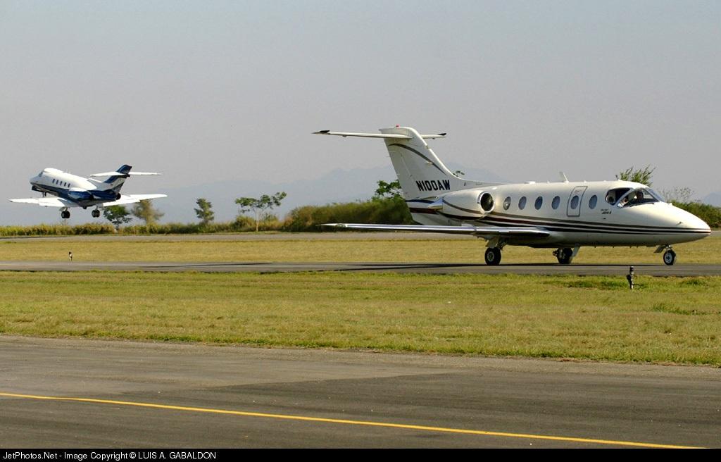N100AW - Beechcraft 400A Beechjet - Private