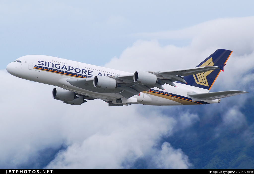 9V-SKG - Airbus A380-841 - Singapore Airlines