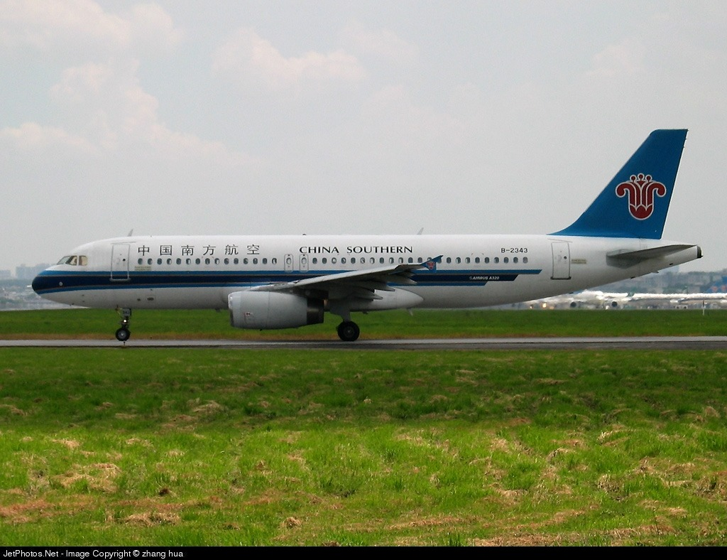 B-2343 - Airbus A320-232 - China Southern Airlines