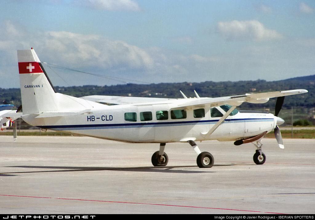 HB-CLD - Cessna 208 Caravan - Zimex Aviation