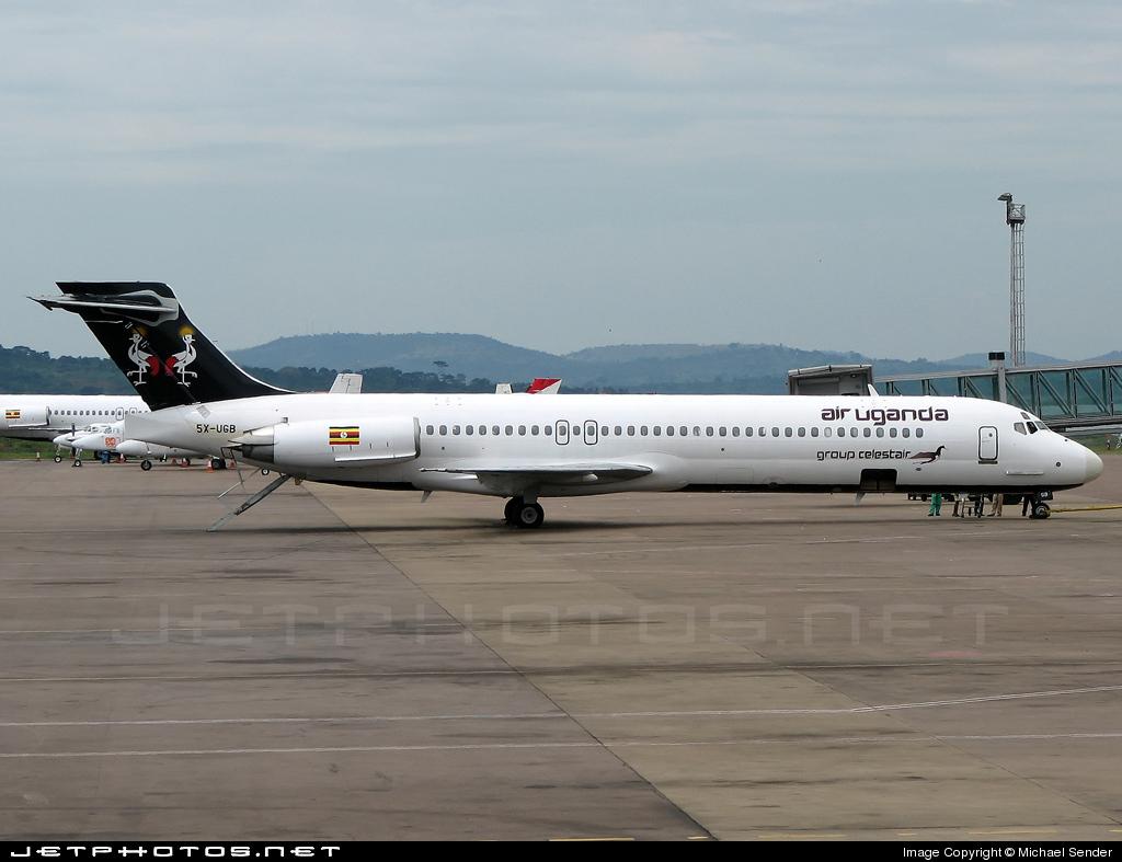 5X-UGB - McDonnell Douglas MD-87 - Air Uganda