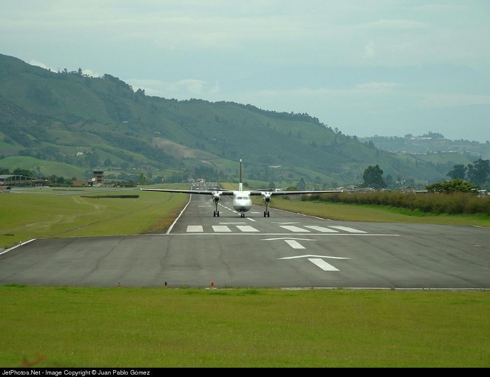 SKMZ - Airport - Runway