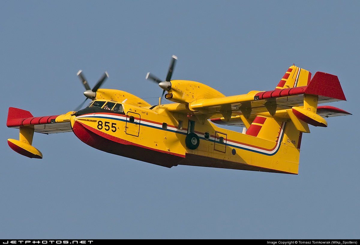855 - Canadair CL-415 - Croatia - Air Force