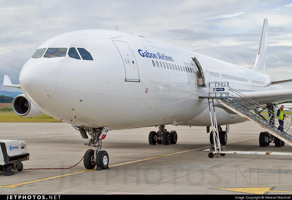 CS-TQM - Airbus A340-313X - Gabon Airlines (HiFly)