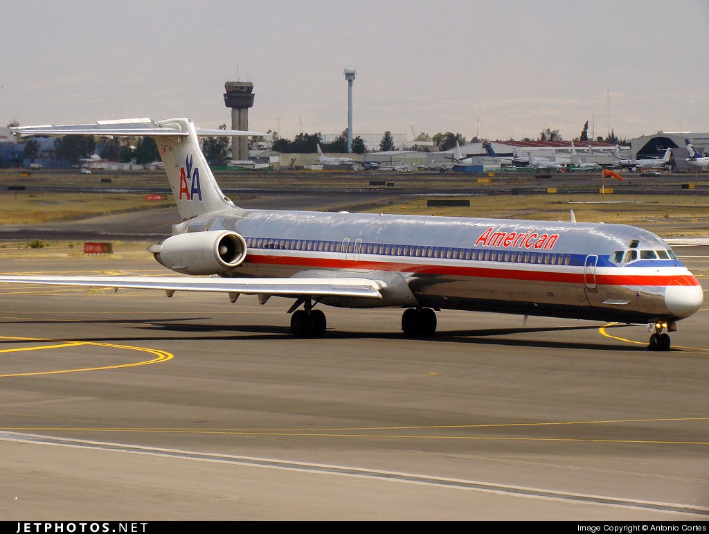 N259AA - McDonnell Douglas MD-82 - American Airlines