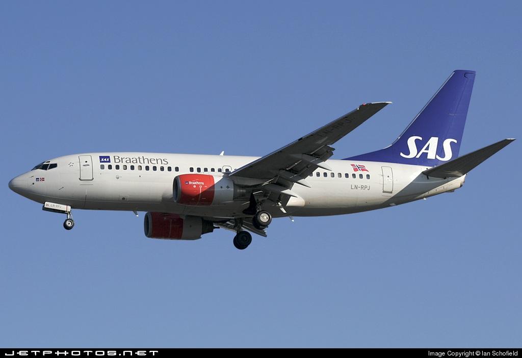 LN-RPJ - Boeing 737-783 - SAS Braathens