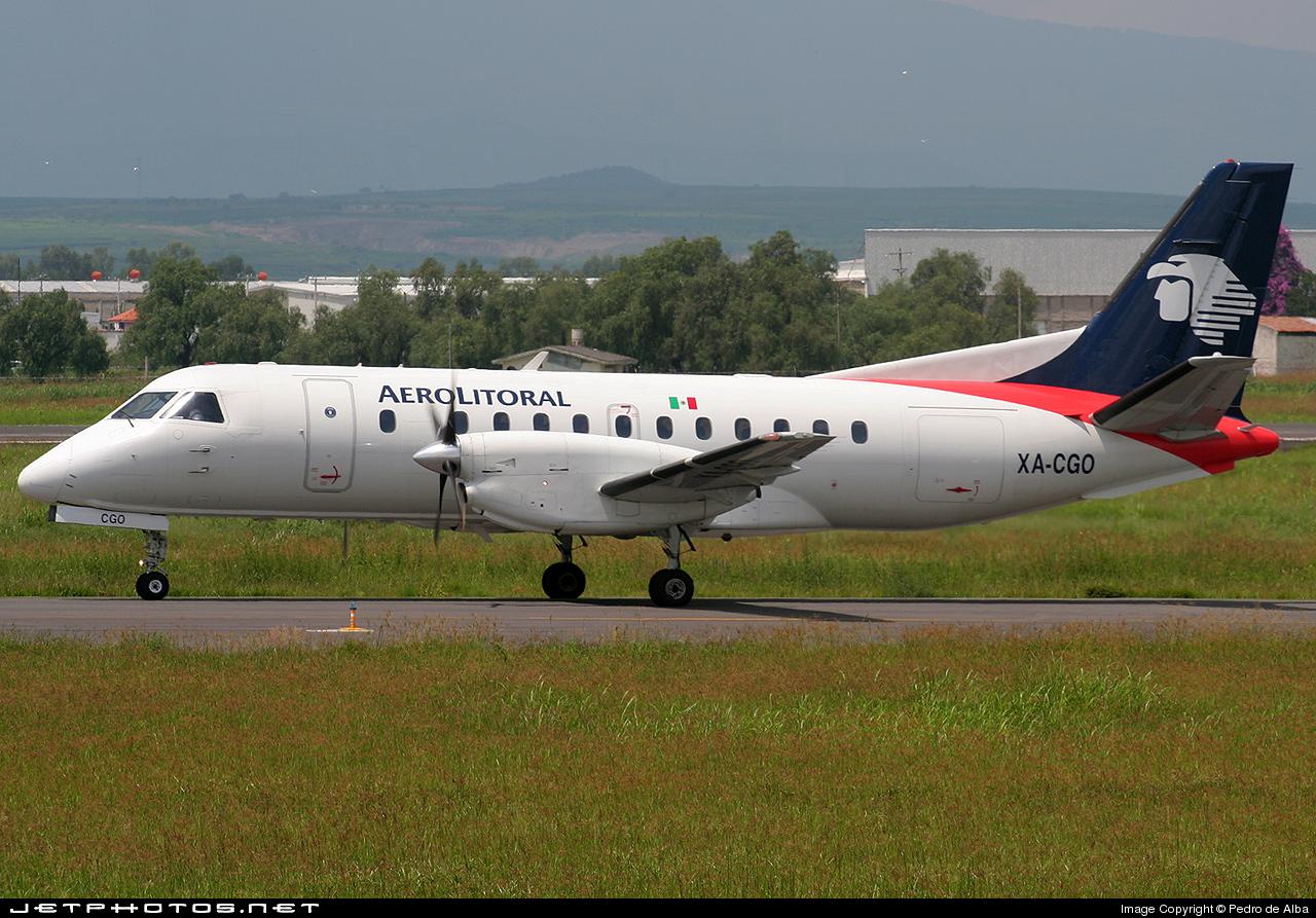 XA-CGO - Saab 340B - Aerolitoral