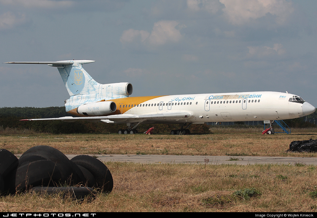 UR-85445 - Tupolev Tu-154B-2 - Ukraine - Air Force