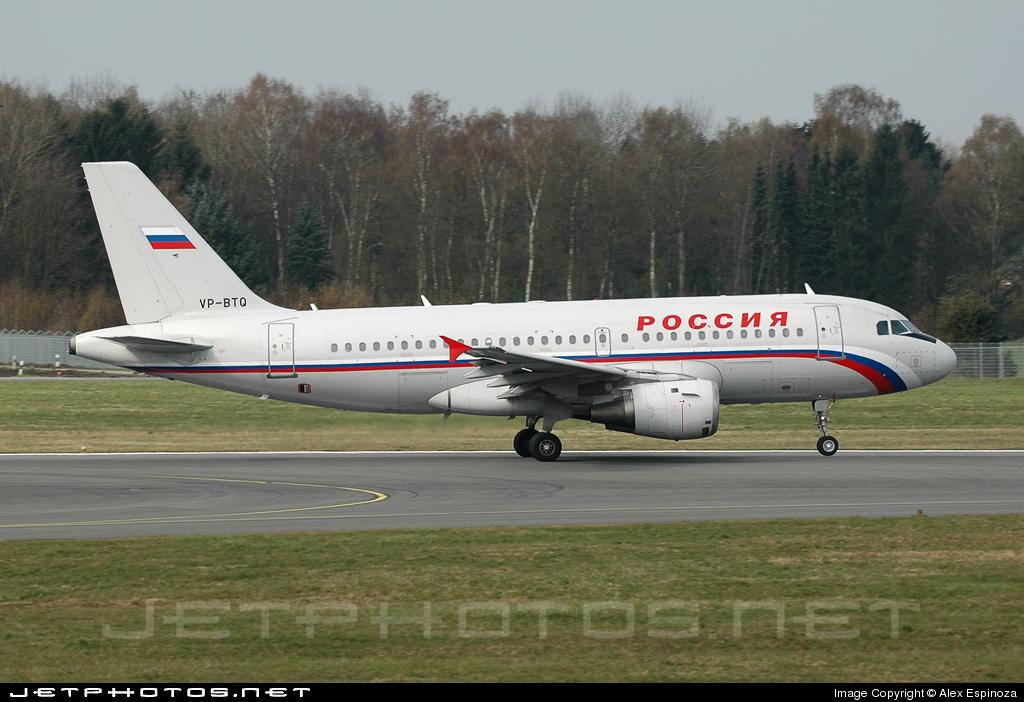 VP-BTQ - Airbus A319-114 - Rossiya Airlines