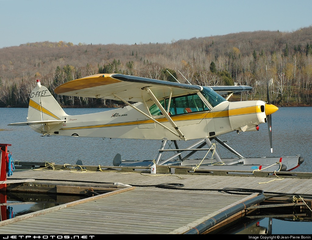 C-FKEF - Piper PA-18-125 Super Cub - Air Mont-Laurier