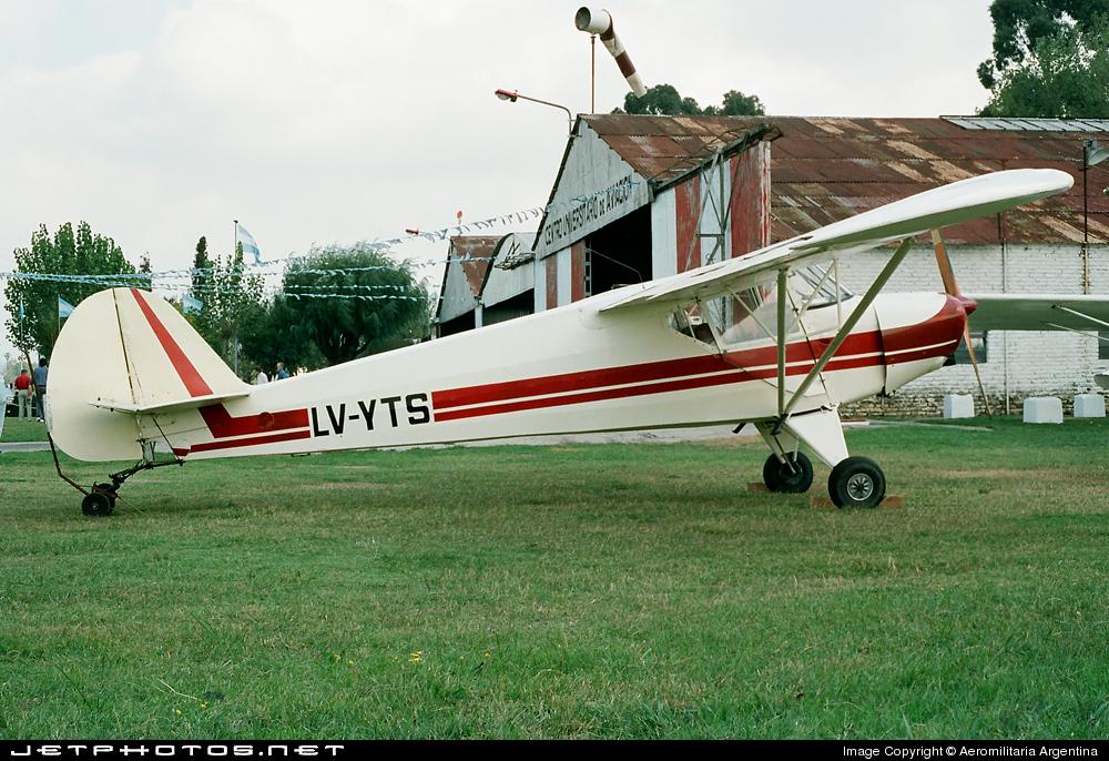 LV-YTS - IAe 20 El Boyero - Private