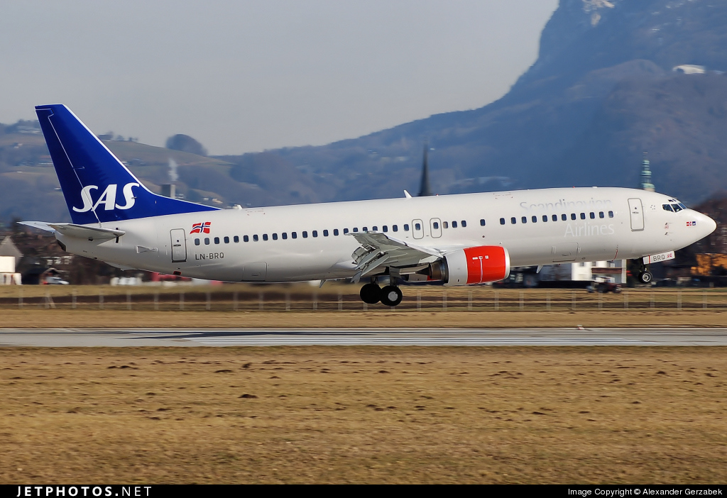 LN-BRQ - Boeing 737-405 - SAS Norge