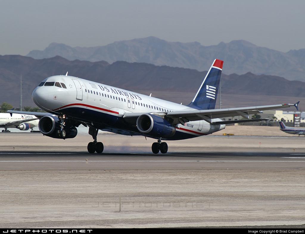 N601AW - Airbus A320-232 - US Airways (America West Airlines)