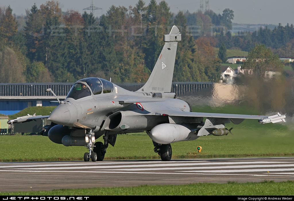 307 - Dassault Rafale B - France - Air Force