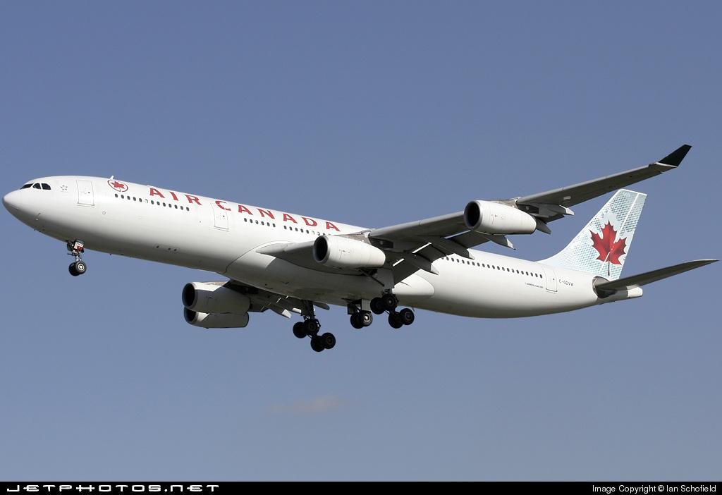 C-GDVW - Airbus A340-313X - Air Canada