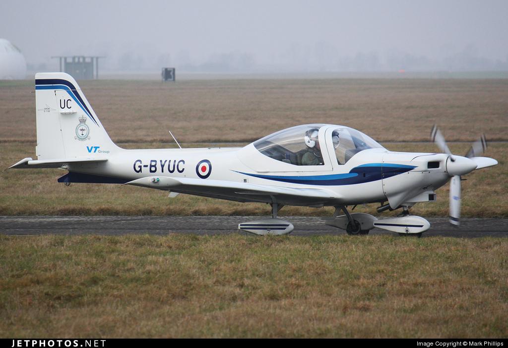 G-BYUC - Grob G115E Tutor - VT Aerospace