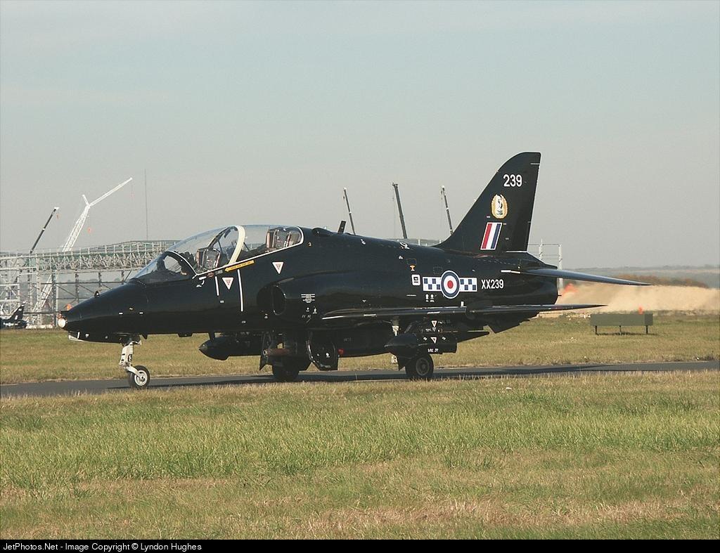 XX239 - British Aerospace Hawk T.1W - United Kingdom - Royal Air Force (RAF)