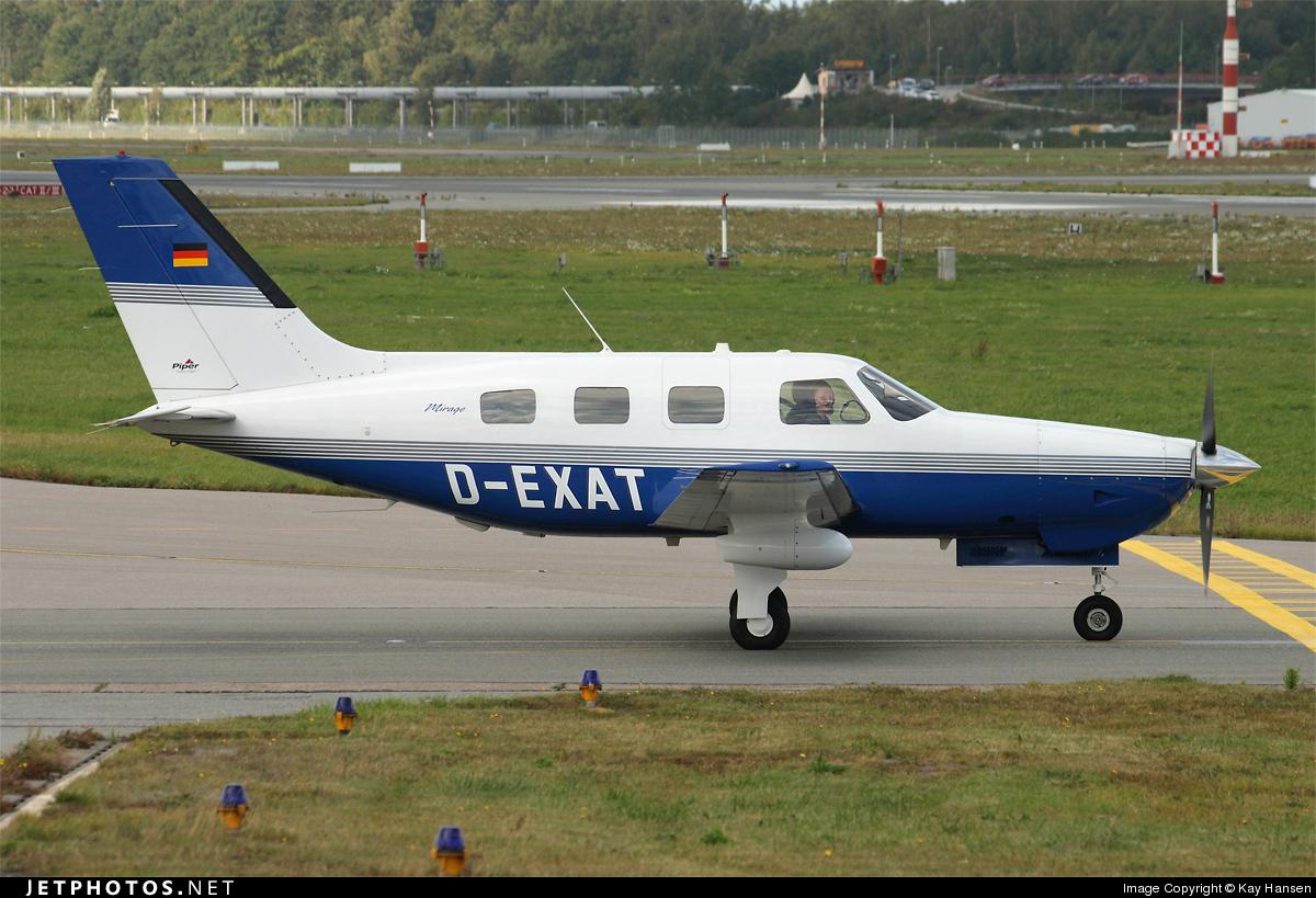 D-EXAT - Piper PA-46-350P Malibu Mirage - Private