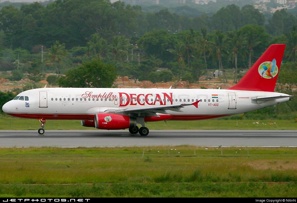 VT-ADZ - Airbus A320-232 - Simplifly Deccan