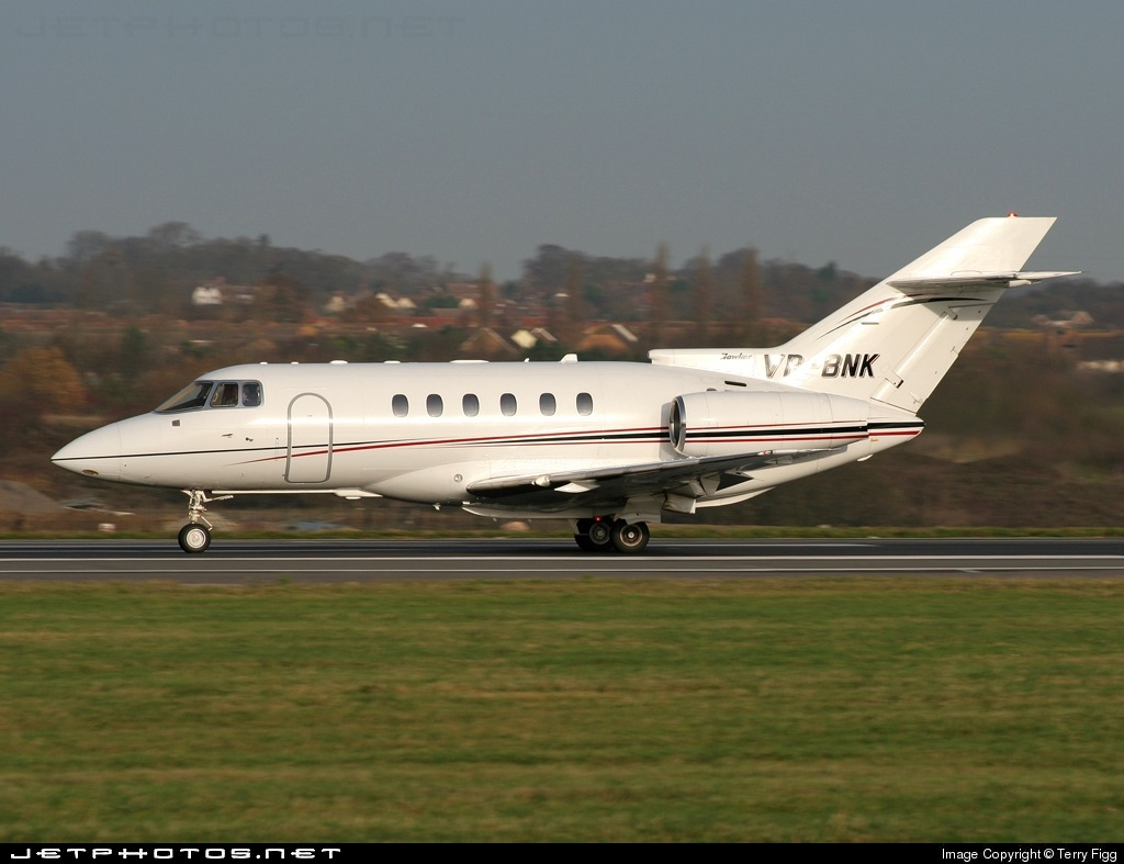 VP-BNK - Raytheon Hawker 800XP - Private