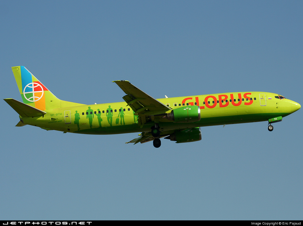 VP-BTH - Boeing 737-42C - Globus Airlines
