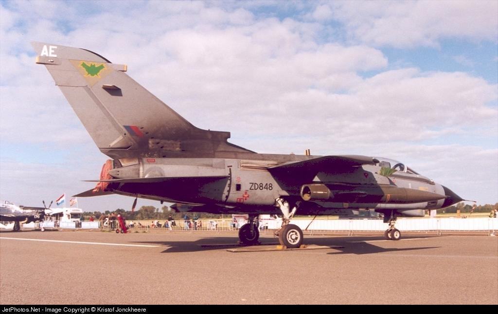 ZD848 - Panavia Tornado GR.4 - United Kingdom - Royal Air Force (RAF)